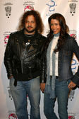 Joe Reitman and Shannon Elizabeth — Stock Photo