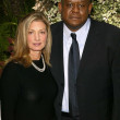 Forest Whitaker and Elizabeth Gabler — Stock Photo