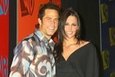 Shawn Christian and wife Deborah — Stock Photo