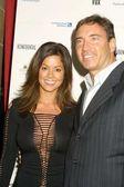 Brooke Burke and husband Dr. Garth Fisher — Stock Photo