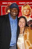 Michael Clarke Duncan and Eileen Marquez — Stock Photo