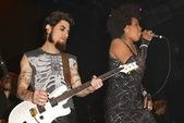 Dave Navarro and Macy Gray — Stock Photo