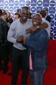 Djimon Hounsou and Taye Diggs — Stock Photo