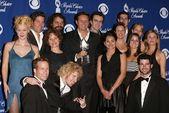 Mark Burnett and cast members — Stock Photo