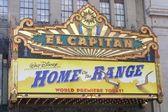 The El Capitan marquee — Stock Photo
