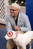 Joe Pantoliano and Buddy — Stock Photo