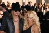 Kid Rock and Pamela Anderson — Stockfoto