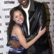 Постер, плакат: Miss USA 2003 Susie Castillo and John Salley