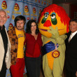Постер, плакат: Marty Krofft David Arquette Courteney Cox and Sid Krofft