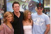 Sarah Michelle Gellar, Matthew Lillard, Linda Cardellini and Freddie Prinze Jr. — Stock Photo