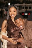 Shanice Wilson and Flex Alexander — Stock Photo