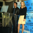 Dylan McDermott and Daryl Hannah - Stock Photo