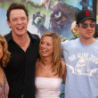 Sarah Michelle Gellar, Matthew Lillard, Linda Cardellini and Freddie Prinze Jr.  — Stock Photo