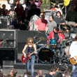 Stock Photo: Sheryl Crow and band members