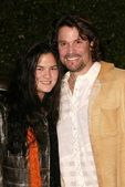 Peter Reckell and Kelly Moneymaker — Stock Photo