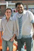 Frankie Muniz and Anthony Anderson — Stock Photo