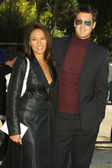 Tia Carrere and Simon Wakelin — Stock Photo