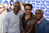 Djimon Hounsou, Mario Van Peebles and Taye Diggs — Stock Photo
