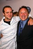 Stephen Furst and son Griff Furst — Stockfoto