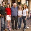 Johnathon Schaech, Vanessa Parise, Burt Young, Amanda Detmer and Brooke Langton — Stock Photo