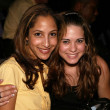 Christel Khalil and Lyndsy Fonseca — Stock Photo
