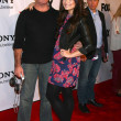 Постер, плакат: Simon Cowell Demi Lovato at The X Factor Viewing Party Mixology Los Angeles CA 12 06 12