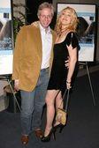 Producer Scott Seligman and Jennifer Blanc — Stock Photo