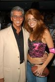 Michael Buffer and Angie Everhart — Stock Photo