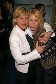 Ellen Degeneres and Christina Applegate — Stock Photo