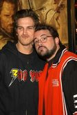 Kevin Smith and Jason Mewes — Stock Photo