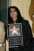 Alice Cooper Star on the Hollywood Walk of Fame — Stock Photo