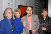 Arthur Hiller, Karen Sharpe Kramer, Sid Caesar and wife — Stock Photo