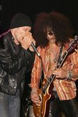Michael Wincott and Slash — Stockfoto