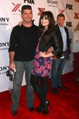 Simon Cowell, Demi Lovato at The X-Factor Viewing Party, Mixology, Los Angeles, CA 12-06-12 — Stock Photo