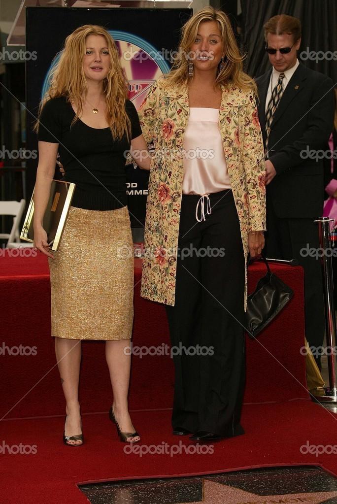 Nancy Juvonen And Drew Barrymore