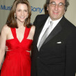 Andrew Lack and wife Betsy — Stock Photo