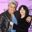 Jay Leno and Mavis Leno — Stock Photo