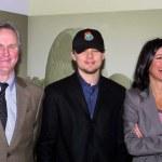 ������, ������: John Adams Leonardo DiCaprio and Laurie David
