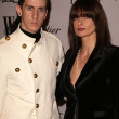Jeremy Scott and Lisa Marie — 图库照片