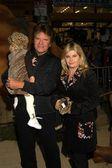 John Fogerty and family — Stock Photo