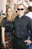 Bridget Fonda and Danny Elfman — Stock Photo