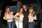 Bonnie-Jill Laflin, Natalie Raitano, Chris DeRose and E.G. Daily — Stock Photo