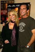 Katie Wallin and Jeff Probst — Stock Photo
