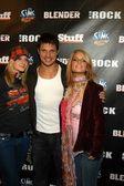 Ashlee Simpson, Nick Lachey and Jessica Simpson — Stock Photo