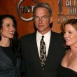 Melissa Gilbert, Mark Harmon and Andie MacDowell — Stock Photo