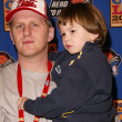 Michael Rapaport and son Julian — Stock Photo