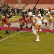 Game action at the Lingerie Bowl 2004 — Stock Photo