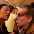 Models Backstage — Stock Photo