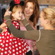 Cindy Crawford with daughter Kaia Jordan — Stock Photo