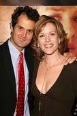 Catherine Dent and husband Peter Eliasberg — Stock Photo